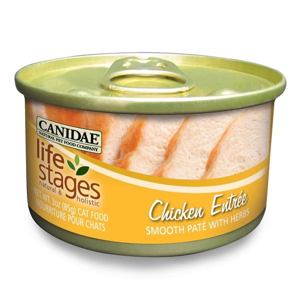 Canidae Life Stages Chicken Canned Cat Food 3 Oz.