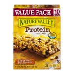 Nature Valley Chewy Granola Bar, Protein, Peanut Butter Dark Chocolate, 10 Bars - 1.4 oz, 1.42 OZ