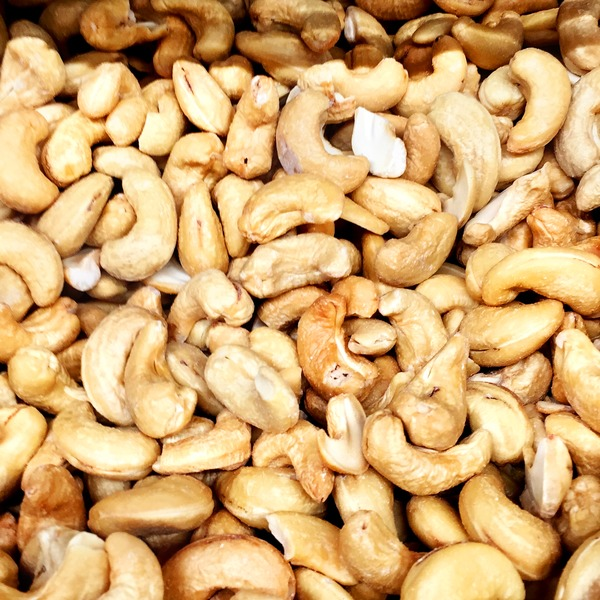 Sunshine Nut Company Roasted Unsalted Cashews, Bulk