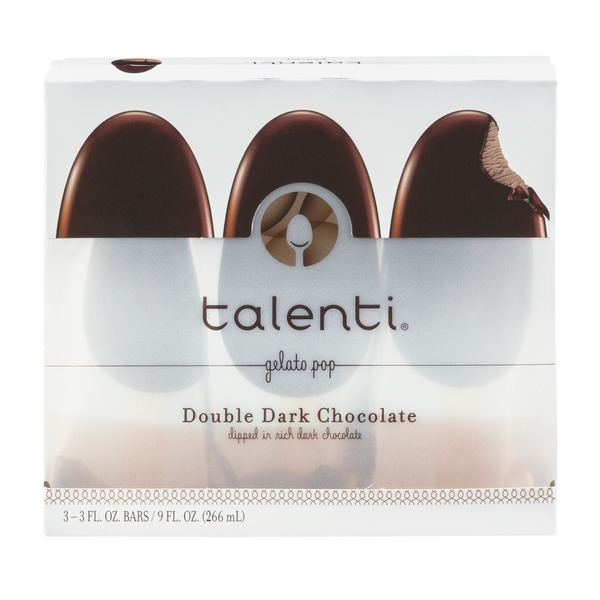 Talenti Gelato Talenti Double Dark Chocolate Gelato Pop - 3 CT