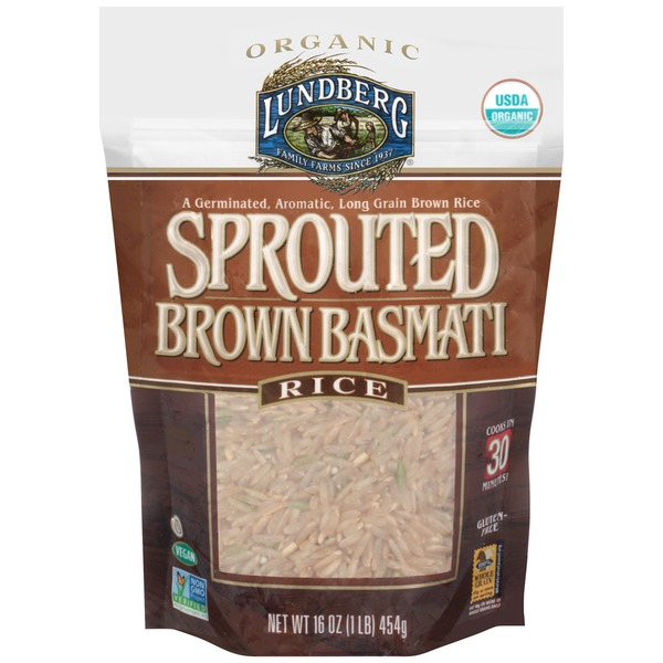 Lundberg Family Farms Organic Brown Basmati Sprouted Rice
