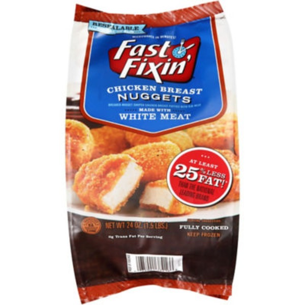 Fast Fixin Breaded Nuggets Chicken Breast