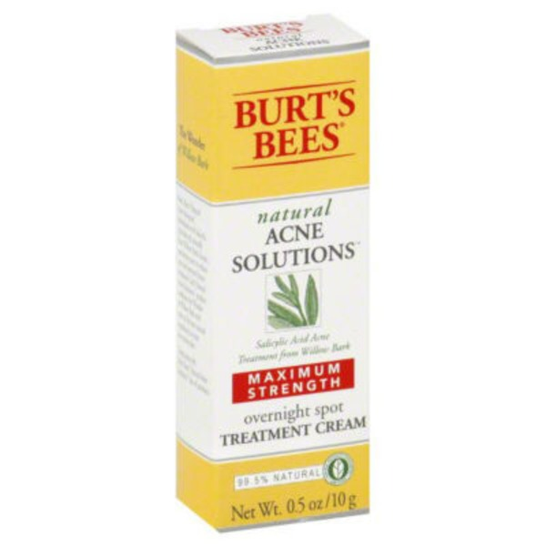 Burt's Bees Acne Solutions Maximum Strength Spot Treatment Cream