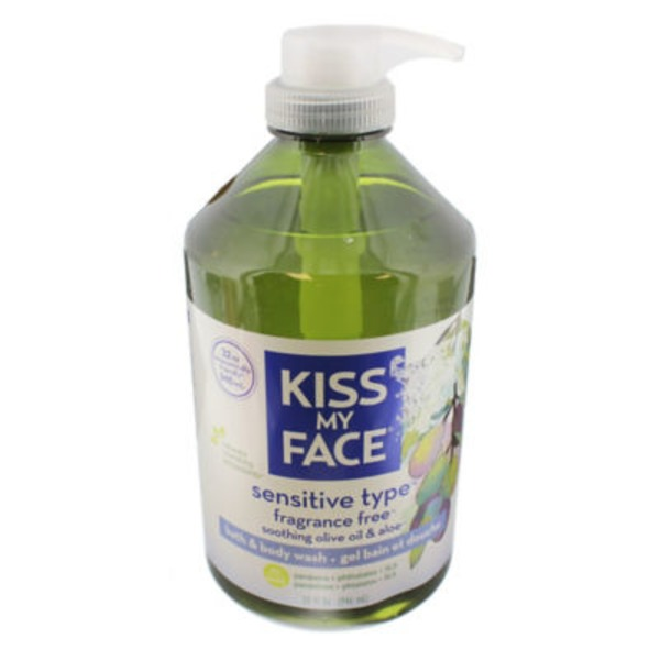 Kiss My Face Sensitive Type Fragrance Free Bath & Body Wash