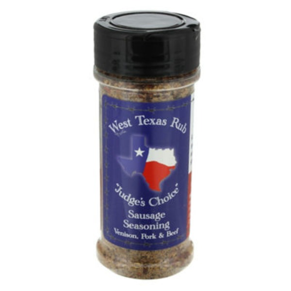 West Texas Rub Judges Choice Sausage Seasoning