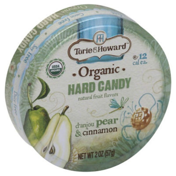 Torie & Howard Organic Hard Candy d'Anjou Pear & Cinnamon