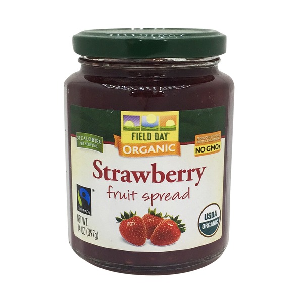Field Day Strawberry Fruit Spread