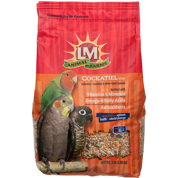 LM Animal Farms Cockatiel Diet