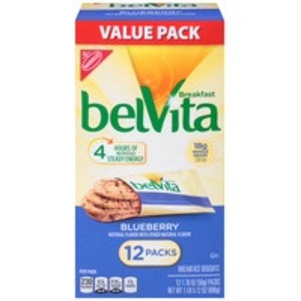 Nabisco Belvita Blueberry Breakfast Biscuits