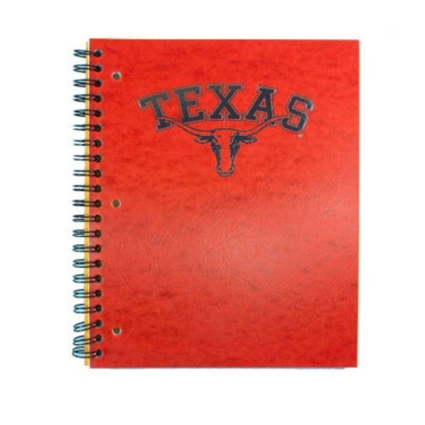 Norcom Ut Wirebound College Ruled Spiral Notebook 100 Sheets