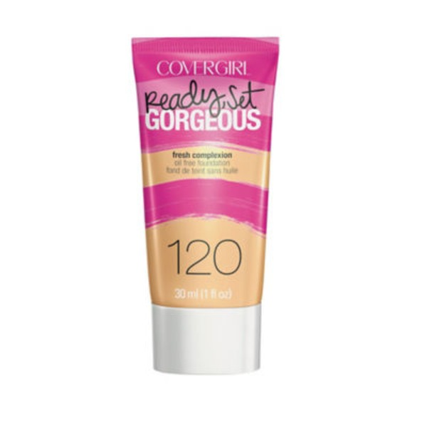 CoverGirl Ready Set Gorgeous COVERGIRL Ready, Set Gorgeous Foundation, Nude Beige  1 fl oz (30 ml) Female Cosmetics