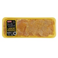 H-E-B Lemon Pepper Thin Sliced Chicken Breast With Rib Meat
