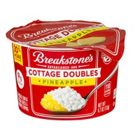 Breakstone's Cottage Doubles Pineapple Cottage Cheese & Topping