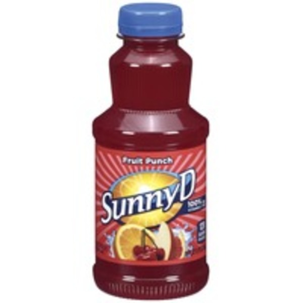 Sunny D Burst Fruit Frenzy Citrus Punch