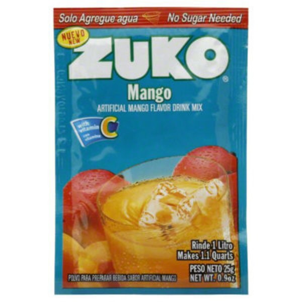 Zuko Artificial Mango Flavor Drink Mix