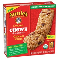 Annie's Homegrown Organic Chewy Granola Bars, Oatmeal Raisin