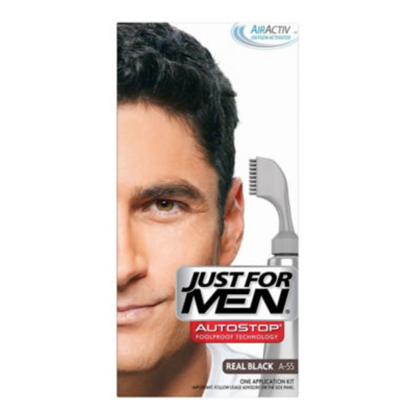 Just For Men Color Application Kit Real Black A-55