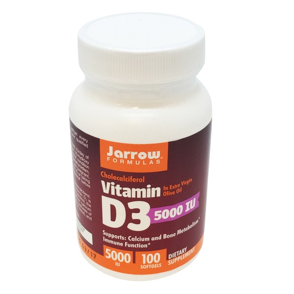 Jarrow Vitamin D3 5000 IU