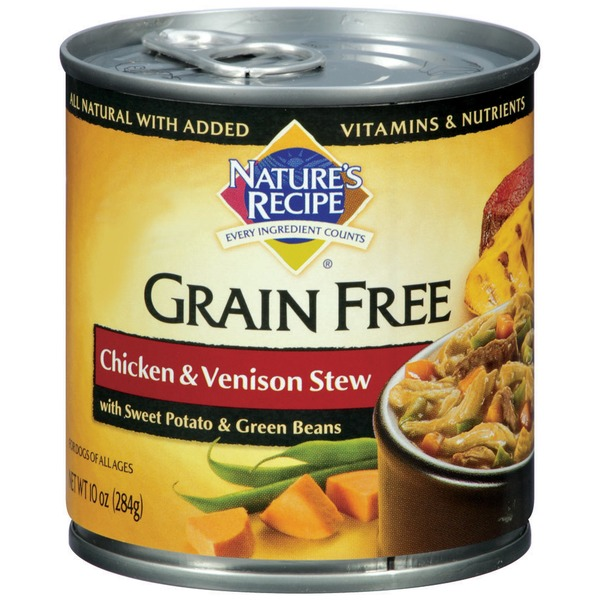 Nature's Recipe Grain Free Chicken & Stew Dog Food