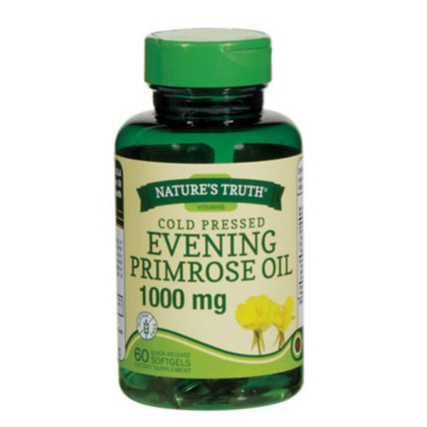 Nature's Truth Organic Evening Primrose Oil 1000 Mg Softgels