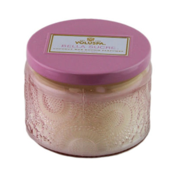 Voluspa Japonica Collection, Petite Candle in Colored Jar, Bella Sucre