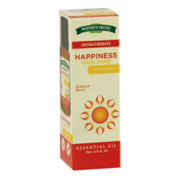Nature's Truth Organic Aromatherapy Happiness 100% Pure Essential Oil