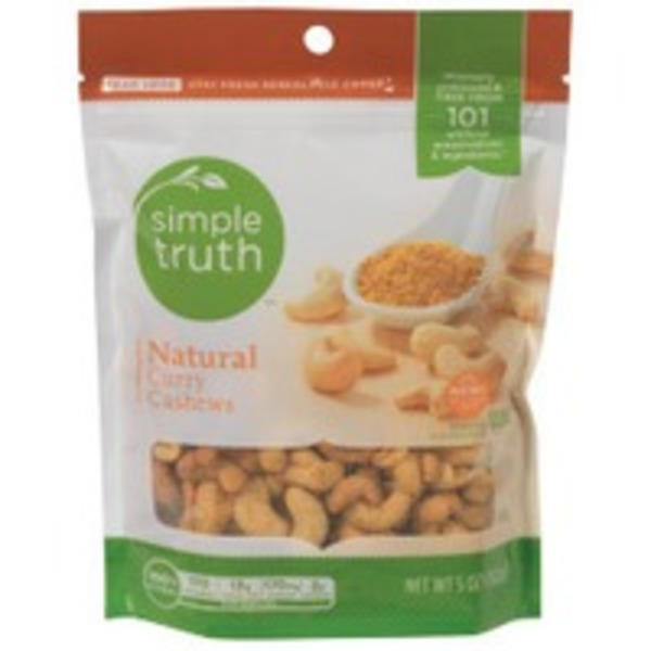 Simple Truth Natural Curry Cashews
