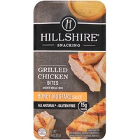 Hillshire Snacking Honey Mustard Sauce Grilled Chicken Bites