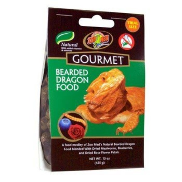 Zoo Med Gourmet Bearded Dragon Food 1.6 Oz.