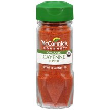 McCormick Gourmet™ Organic Cayenne Red Pepper, 1.5 oz. Shaker