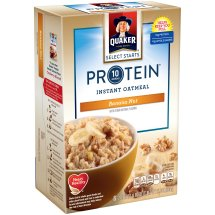 Quaker® Select Starts 10 Grams Protein™ Banana Nut Instant Oatmeal, 6 Count, 2.15 oz. Packets