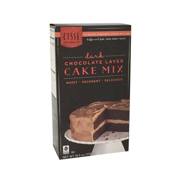 Cisse Trading Co. Dark Chocolate Layer Cake Mix