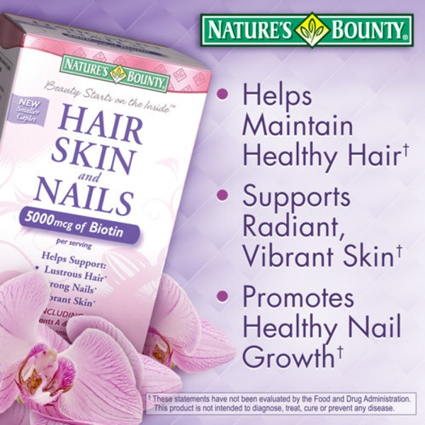 Costco Nature\'s Bounty Hair, Skin And Nails Vitamins Delivery Online ...