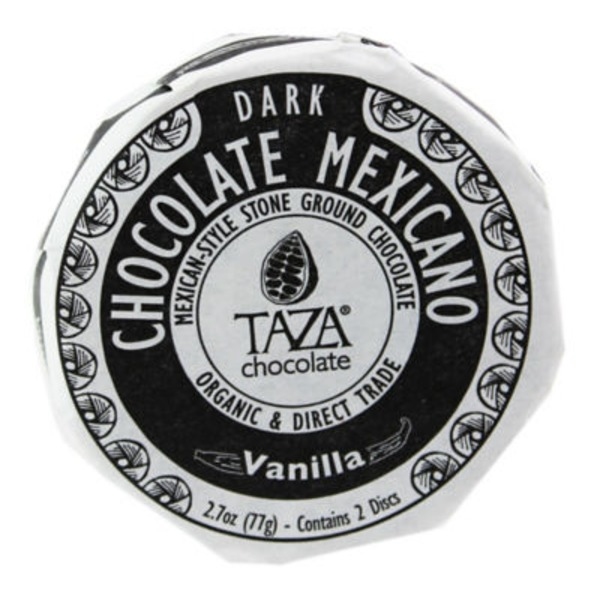 Taza Vanilla Chocolate Mexicano Classic Chocolate Discs