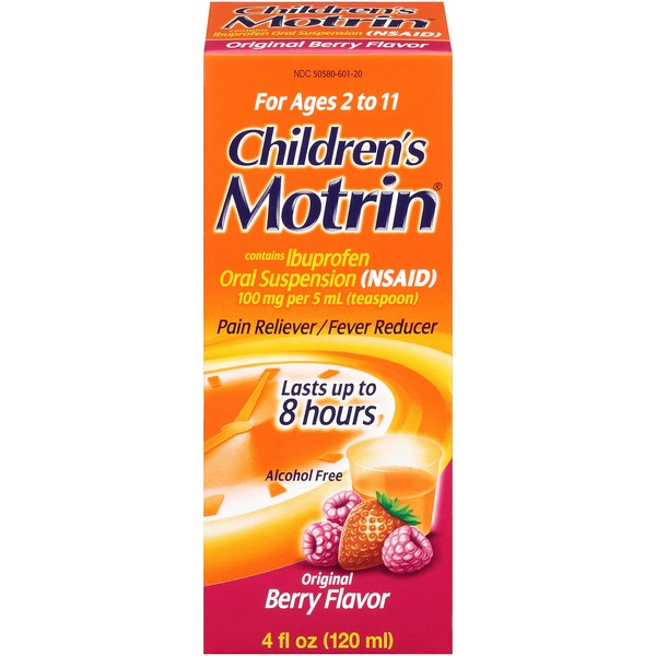 Children's Motrin® Berry Flavor (Secondary Placement/Baby) Children's
