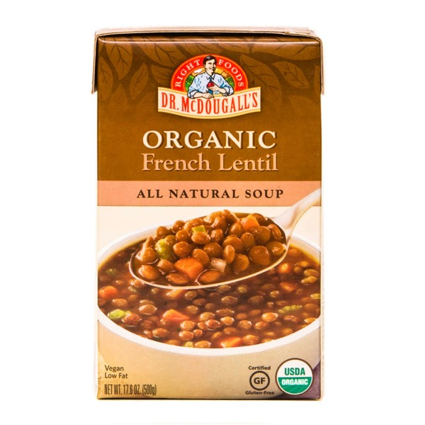 Dr. McDougall's Organic French Lentil Soup