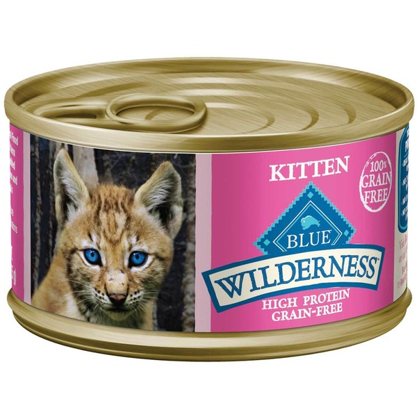 Blue Buffalo Kitten Wilderness High Protein Grain Free Cat Food