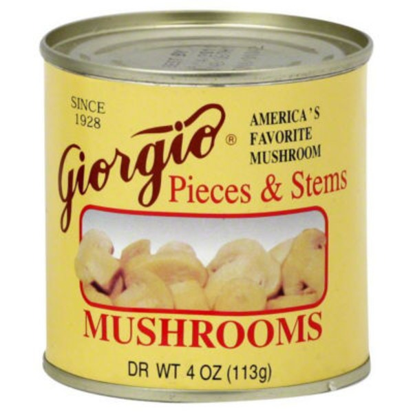 Giorgio Pieces & Stems Mushrooms