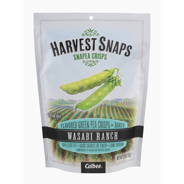 Harvest Snaps Harvest Snaps Snapea Crisps Wasabi Ranch
