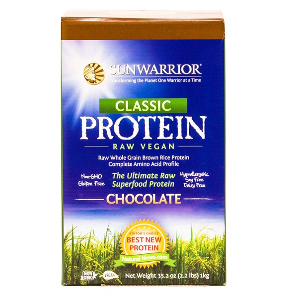 Sunwarrior Raw Vegan Protein Chocolate