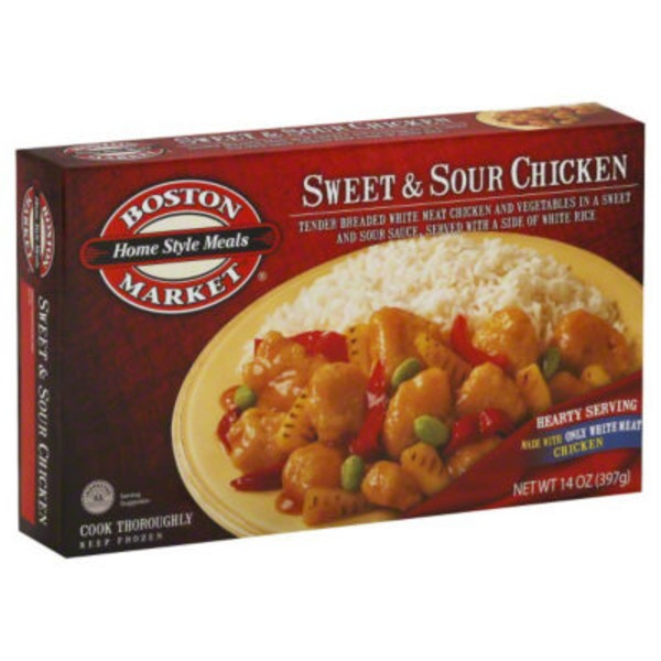 Boston Market Sweet & Sour Chicken Home Style Meals