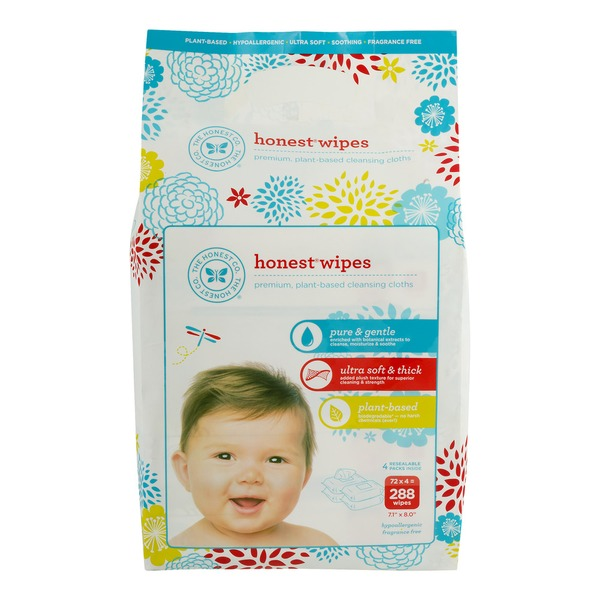 The Honest Company Honest Wipes Fragrance Free