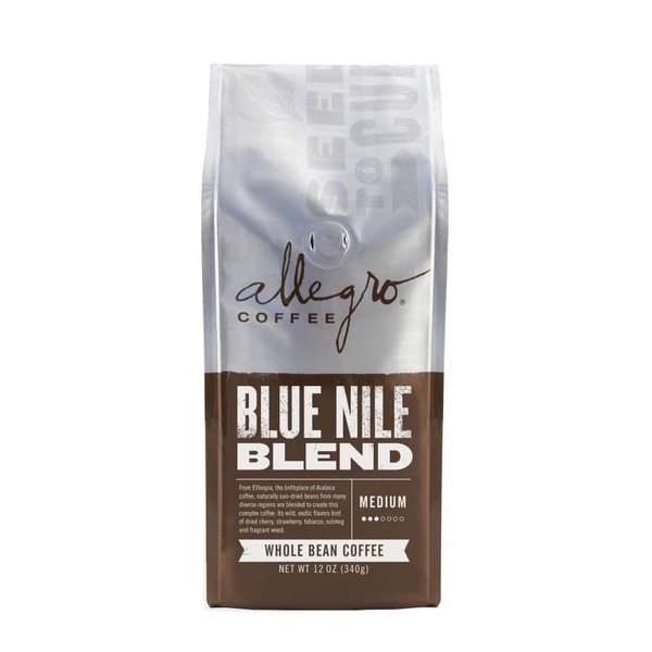 Allegro Blue Nile Blend Medium Whole Bean Coffee