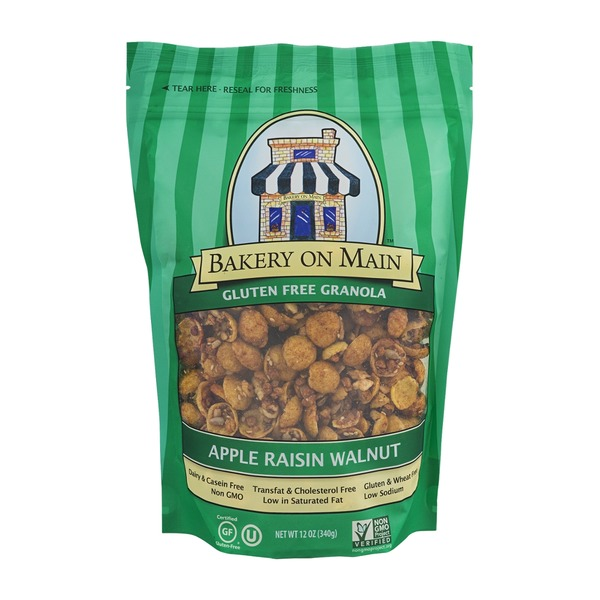 Bakery on Main Gluten-Free Granola Walnut Apple Raisin