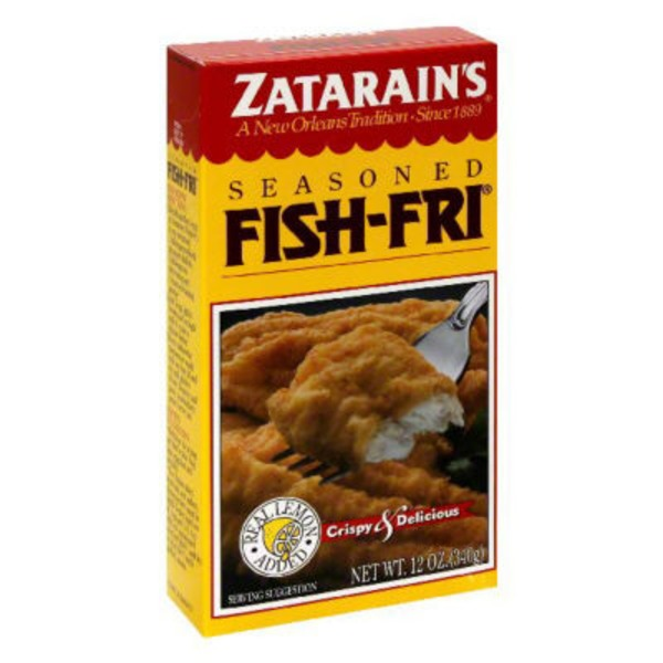 Zatarain's Fish-Fri Seasoned Seafood Breading Mix