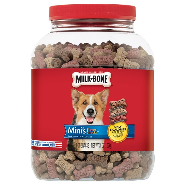 Milk-Bone Mini's Beef, Chicken, and Bacon Flavored Snacks