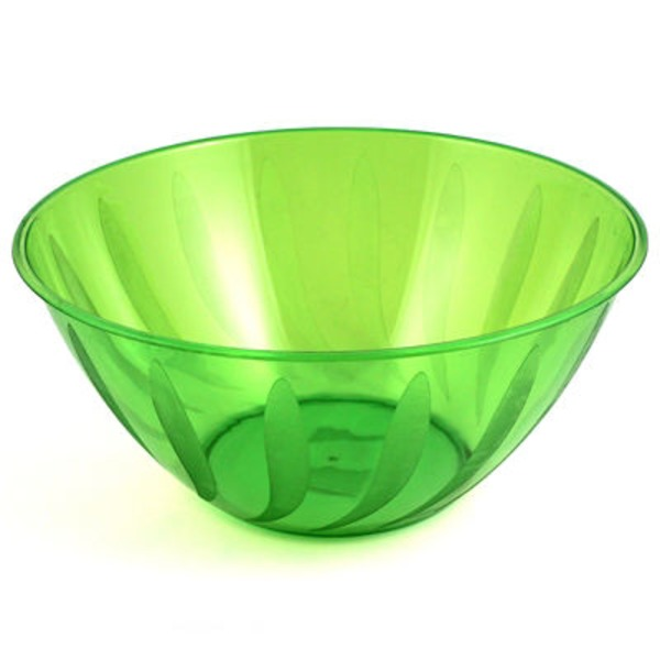 Maryland Plastics 164 Oz Kiwi Swirls Large Bowl
