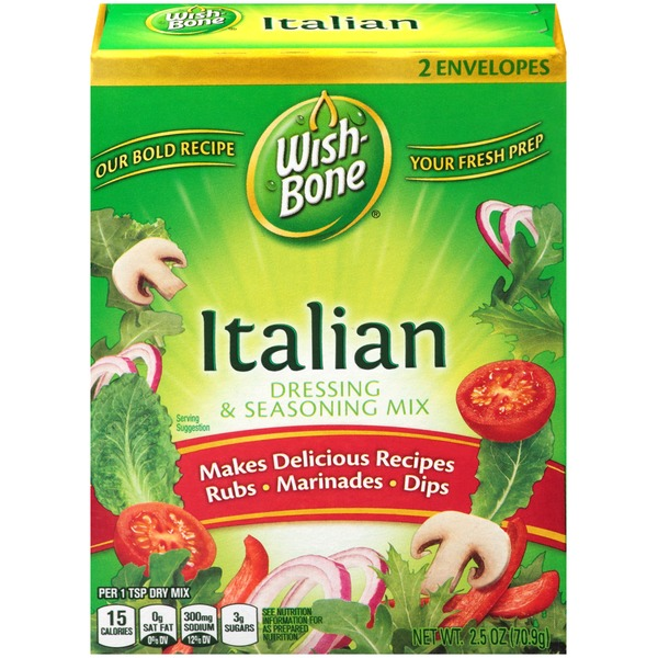 Wish-Bone Italian Dressing & Seasoning Mix