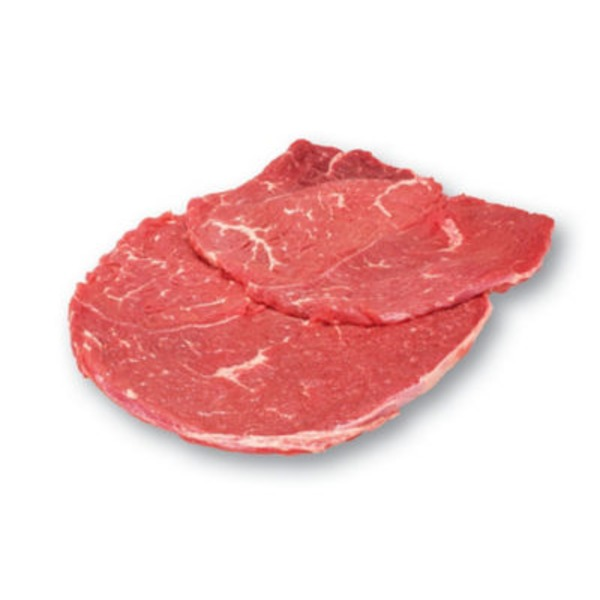 Natural Boneless Beef Round Tip Steak Cap Off
