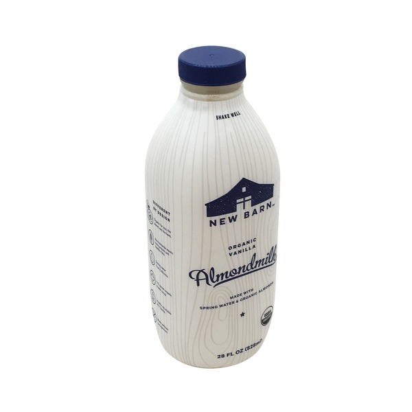 New Barn Organic Vanilla Almond Milk